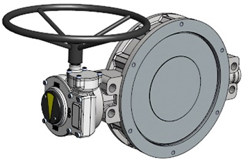 411 (41000) series Wafer type butterfly valve of stainless steel