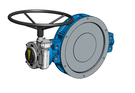 31100 (31000-31200) Wafer type butterfly valve of carbon steel